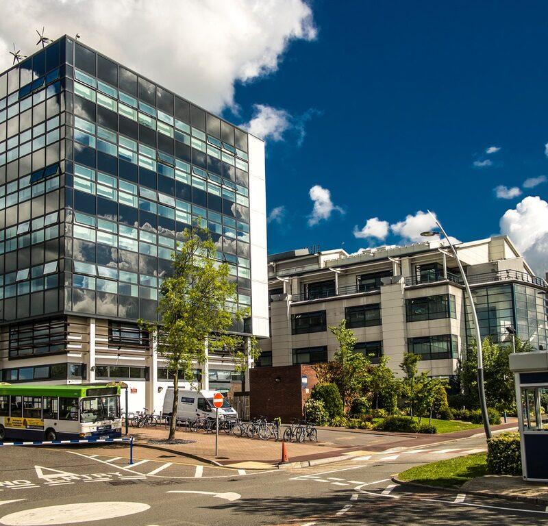 Around Kedleston Road site, Derby Campus, University of Derby.